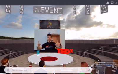 TEDxLeuven Hosts First Ever 3D Immersive Virtual Event With MootUp
