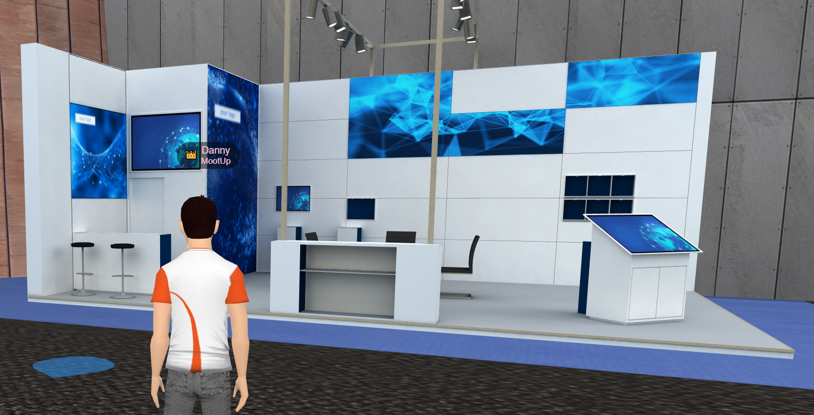 Virtual Booth